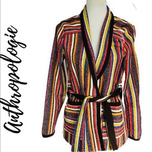 NWT- Mansoura Striped Jacket